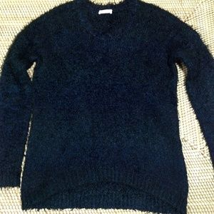 WHISTLES fuzzy knit sweater size 6